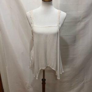 Free people intimate off white cami blouse